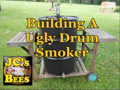Building A Ugly Drum Smoker