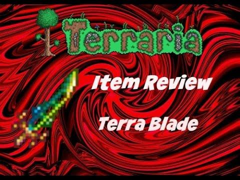 Terraria(ios) 1.2 Item Review Terra Blade