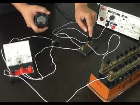 Charging & Discharging of a Capacitor