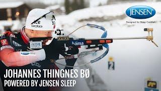 Johannes Thingnes Bø - Powered by Jensen Sleep