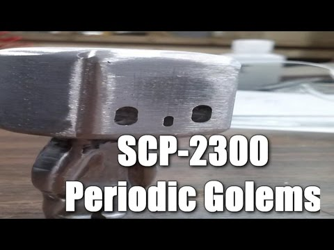 SCP-2300 Periodic Golems | Object Class Euclid | Humanoid scp