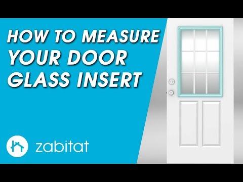 How to Measure Your Door for Replacement Door Glass Inserts