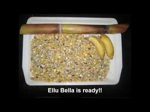 How to make Ellu bella - Sankranthi