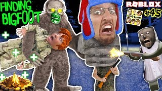 FINDING BIGFOOT & GRANNY Finding Us HIDE and SEEK! ROBLOX FGTEEV Extreme Camping 3-in-1 Game (#45)
