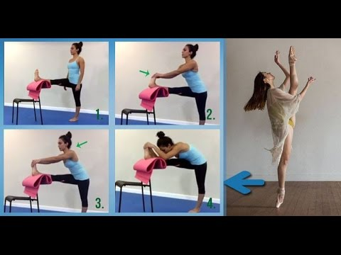 Grand Battement Ballet Stretching Hamstrings Flexibility Kinesiological Stretching