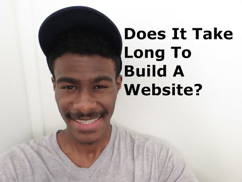 FAQ:Does It Take Long To Build A WordPress Website?