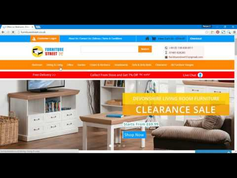Buy online Furniture in the UK | Furniture Street
