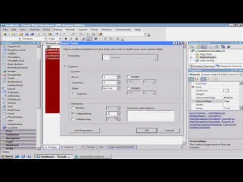 ASP.NET Tutorial -