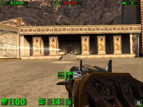 Serious Sam: The First Encounter Playthrough- Part 1- Hatshepsut Temple