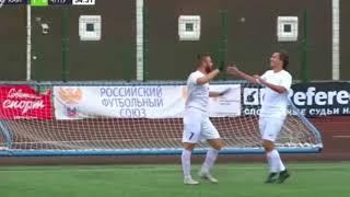 Russian player scores sensational somersault penalty