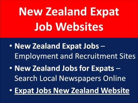 New Zealand Jobs for Foreigners