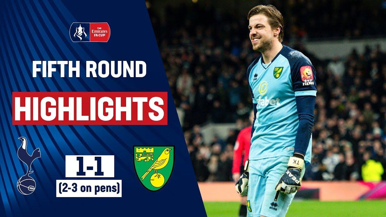 Krul Heroics Upsets Spurs | Tottenham Hotspur 1-1 Norwich City (2-3 on pens) | Emirates FA Cup 19/20
