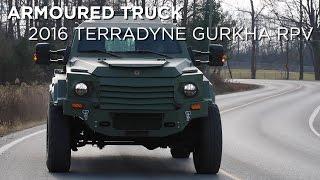 Armoured Truck | 2016 Terradyne Gurkha RPV | Driving.ca