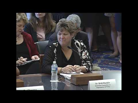Full Committee – Public Hearing RE: Past, Present, and Future of SNAP: Nutrition Education