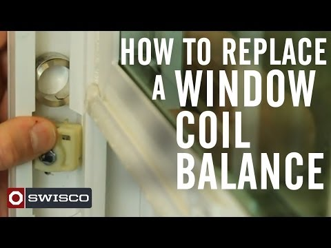 How to replace a window coil balance