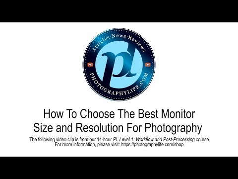 Choosing A Monitor Size and Resolution For Photography