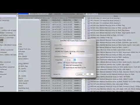 DVCPRO Frame Rate Converter