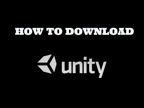 How To Download And Install UNITY 3D