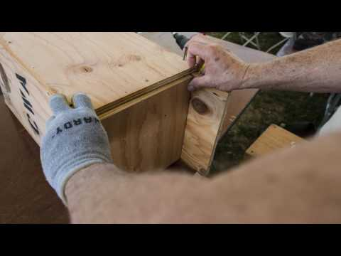 How to build a California Waterfowl wood duck nest box