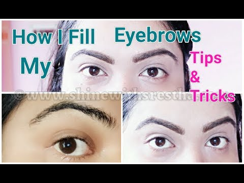 Eyebrow Tutorial | How I Fill In My Eyebrows Step By Step Tutorial To Get Fuller Looking Brows |