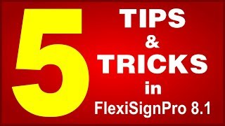 Download FlexiSign: Tips and Tricks in Flexi Sign Pro 8.1 Video