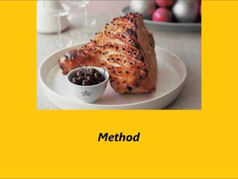 Recipe Easy Glazed Ham