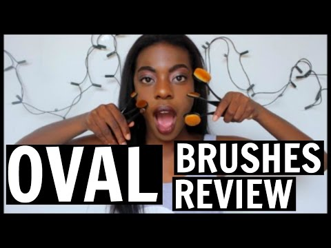 FIRST IMPRESSION ON AMAZON OVAL BRUSHES!