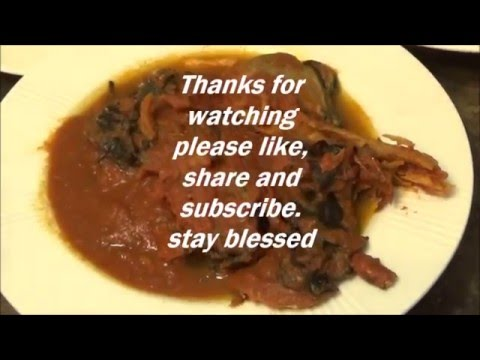 How to make Benin peppersoup