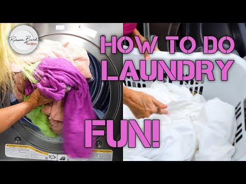 How To Do Laundry    How to Wash Clothes and Sheets