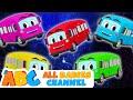 Wheels The Bus Five Little Buses Nursery Rhymes amp Kids Songs All Babies Channel