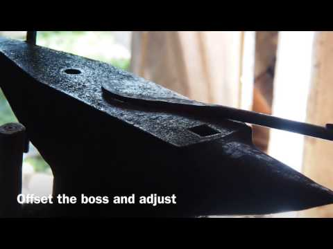 How to make axe or hammer head holding tongs