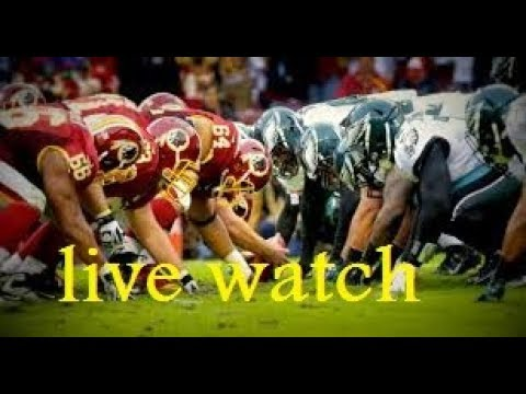 philadelphia eagles vs washington redskins live streaming