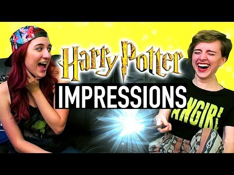 Harry Potter Impressions Challenge SPELL EDITION ft. Brizzy Voices