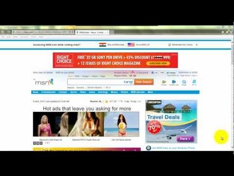 Delete Browser History In Internet Explorer Hindi