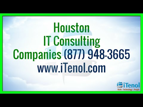 Houston IT Consulting Companies in Houston (877) 948-3665 IT Consulting Houston