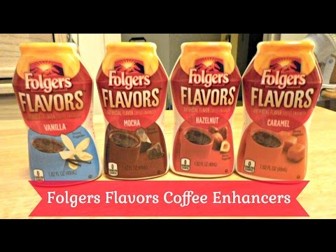 Folgers Flavors Coffee Enhancers Unboxing