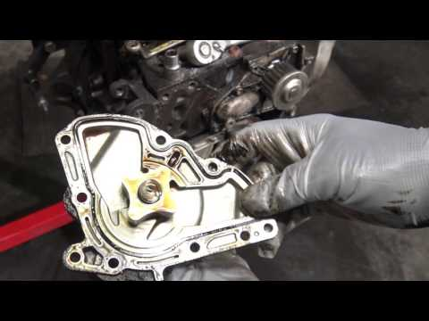 How to replace oil pump Toyota Camry 2.2 engine