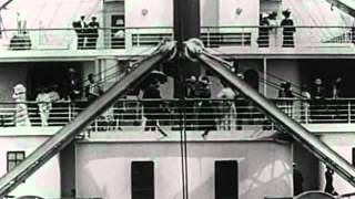 Titanic departure (real video 1912)