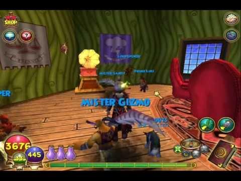 Wizard101 New lvl 78 Pet Efreet!
