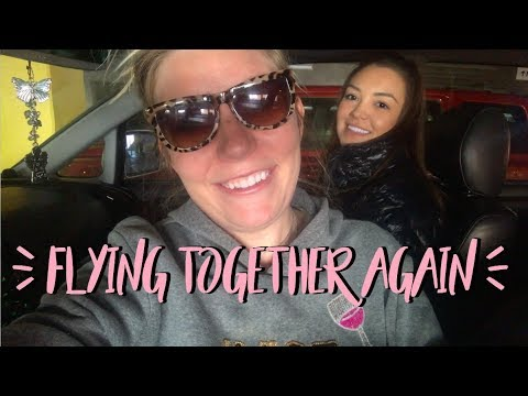 Flying with best friends | Flight Attendant Vlog