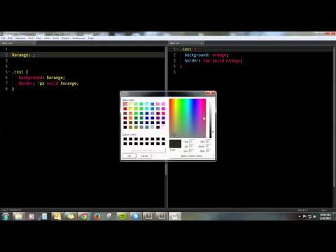 SASS SIMPLIFIED VIDEO 1 - Prepros, Variables, Mixins