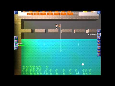 The Blockheads: Making a Fishing Pond