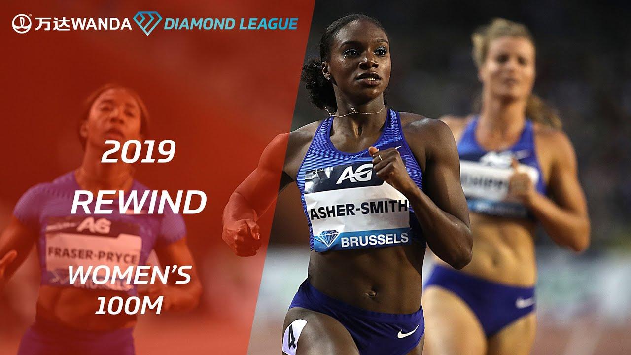 Best of the women's 100m 2019 - Wanda Diamond League
