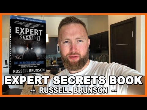 Expert Secrets Book Review - Russell Brunson | CREATING A MASS MOVEMENT