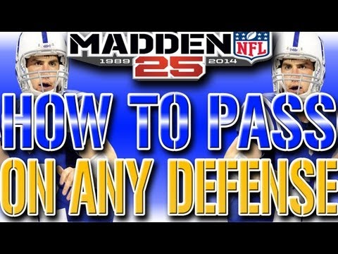 Madden 25 NEXT GEN: How To Beat ANY Defense (Beating Man & Zone Defense) DOMINATE PASSING TIPS