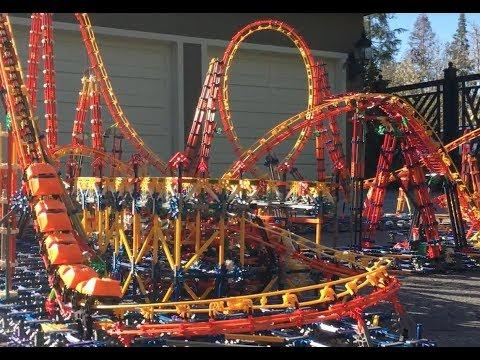 Thunder | A Knex Roller Coaster