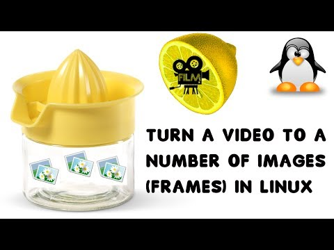 How to extract images (frames) from any video in linux (Ubuntu, Mint etc.)
