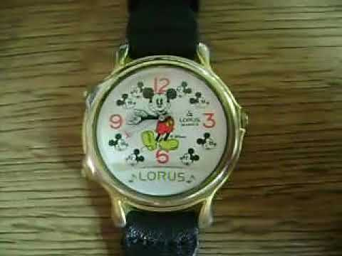 Reloj Mickey Mouse musical by Lorus Watch