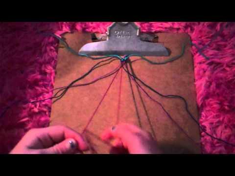 How to make friendship bracelets: Criss Cross