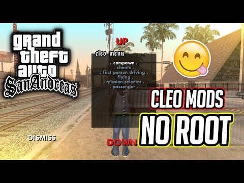 [No Root] Install Cleo Mods on GTA San Andreas||Jellybean,KitKat,Lollipop,Marshmallow,Nougat support